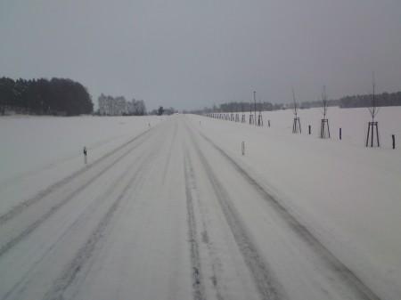 B 96 bei Finsterwalde